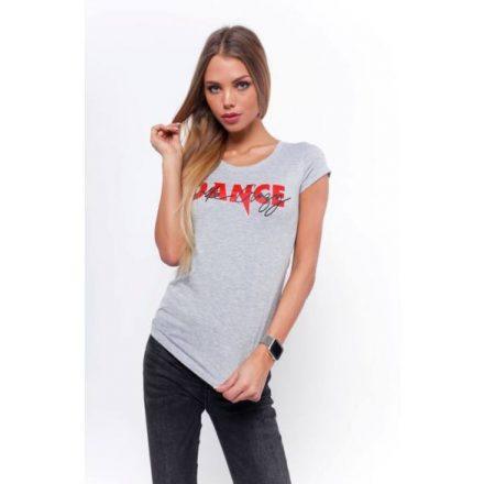 DANCE T-SHIRT - GREY (S/M)