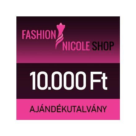 Fashion Nicole Shop - 10.000 Ft-os ajándékutalvány