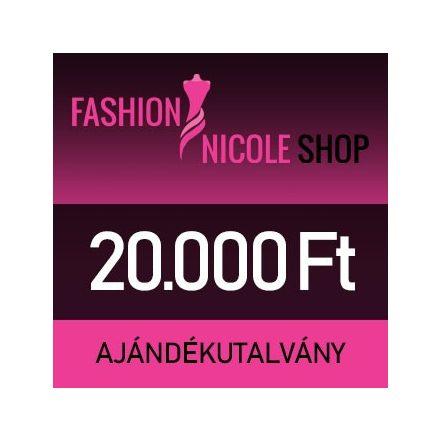 Fashion Nicole Shop - 20.000 Ft-os ajándékutalvány