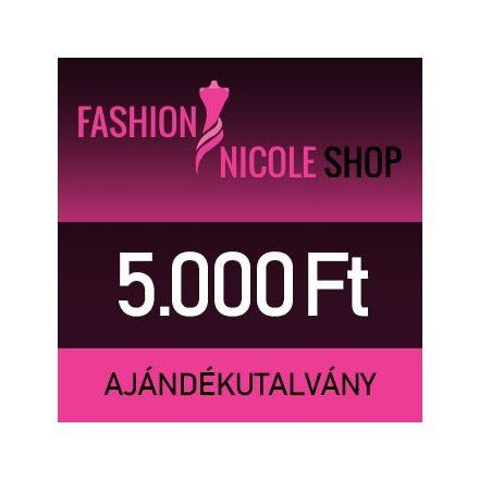 Fashion Nicole Shop - 5.000 Ft-os ajándékutalvány