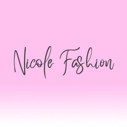Fashion Nicole Shop - BLUE NATURE TOP - FEKETE ( ONE SIZE  )