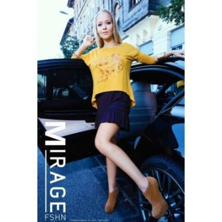 Fashion Nicole Shop - MIRAGE EMESE RUHA - SÁRGA/BARNA (ONE SIZE)