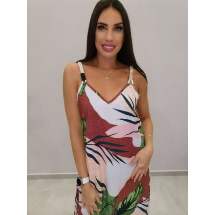Fashion Nicole Shop - JUNGLE MAXI RUHA - PÚDER ( L/XL )
