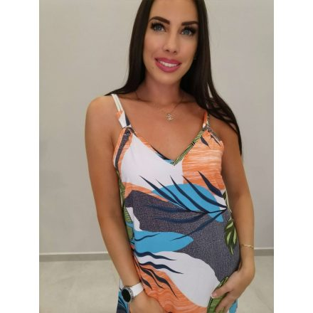 Fashion Nicole Shop - JUNGLE MAXI RUHA - NARANCS ( L/XL )