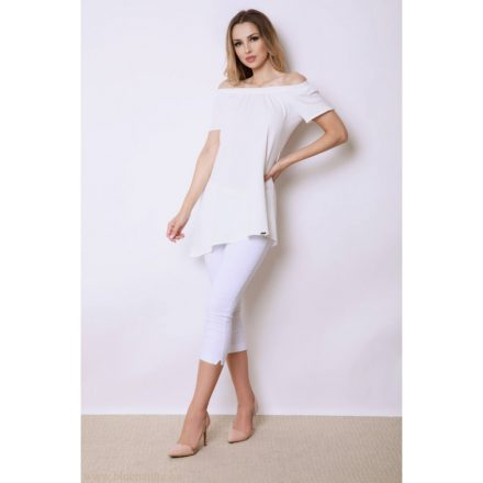 Fashion Nicole Shop - BLUE NATURE PANNI TUNIKA - FEHÉR ( ONE SIZE )