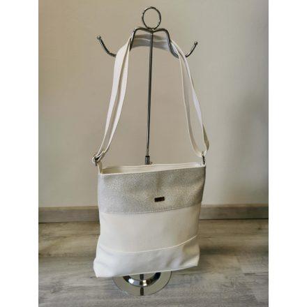 VIA55 BAG - WHITE/SILVER